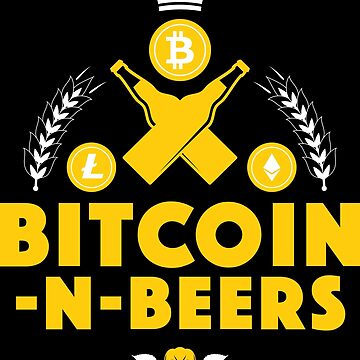 Bitcoin-N-Beers (Center / Dark) by Bitcoin-N-Beers