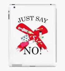 Just Say No! iPad Case/Skin