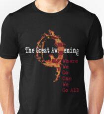 QAnon Storm The Great Awakening WWG1WGA by Scralandore Unisex T-Shirt
