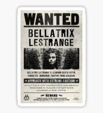 bellatrix lestrange Sticker