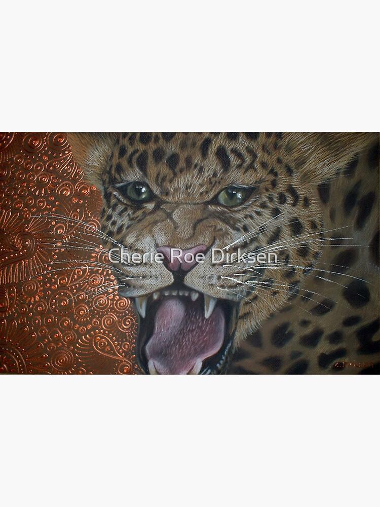 Leopard Attack by cheriedirksen