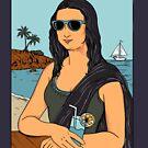 Mona Lisa Summer by coffeeman