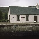 Control Room Cullochy Lock S fort Augustus on Caledonian Canal Scotland 19840912 0013M  by Fred Mitchell