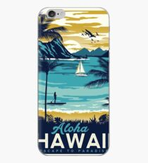 Vintage poster - Hawaii iPhone Case