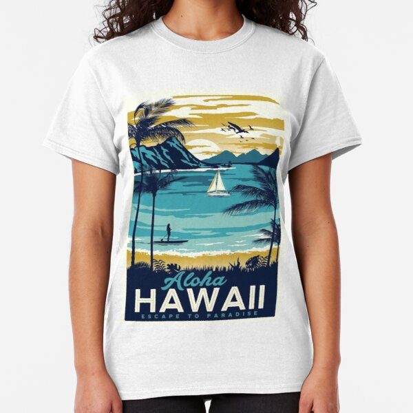 Vintage poster - Hawaii Classic T-Shirt