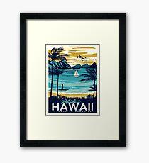 Vintage poster - Hawaii Framed Print