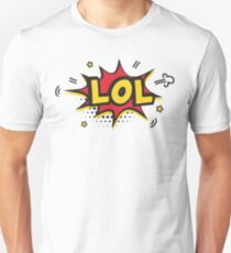 LOL laugh out loud sticker classic gift idea Unisex T-Shirt