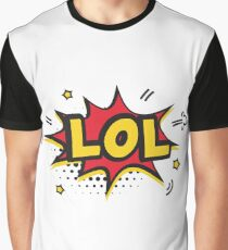 LOL laugh out loud sticker classic gift idea Graphic T-Shirt