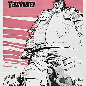 Vintage poster - Falstaff by mosfunky