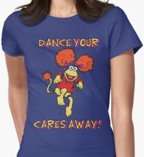 Fraggle Rock Fraggles 80s Muppets Women's Fitted T-Shirt