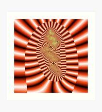 Quadrium Prime -- RedRoar Art Print