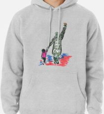 WE SHOULD CARE - STATUE OF LIBERTY - KEEP FAMILIES TOGETHER Pullover Hoodie