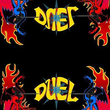 Duel Jousting Game Phone Case #2 by shadowinkdesign
