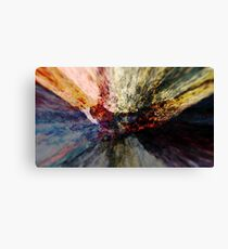 Abstract colorful explosion rocks nature energy illustration  Canvas Print