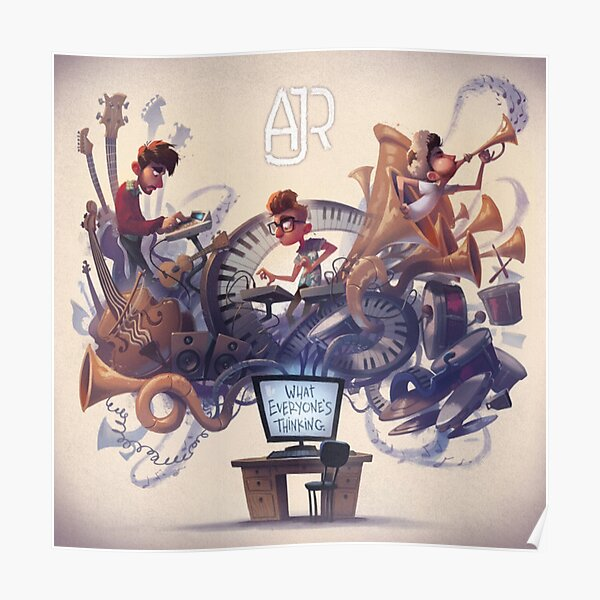 AJR What Everyone's Thinking Poster