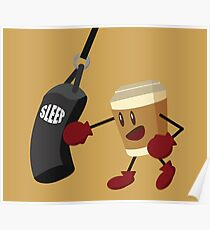 Coffee Boxing Poster