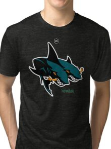 The 2 Headed Sharks From San Jose Tri-blend T-Shirt