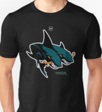 The 2 Headed Sharks From San Jose Unisex T-Shirt