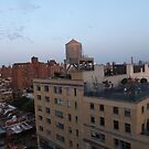 Aerial View, Twilight View, West Village, New York City by lenspiro