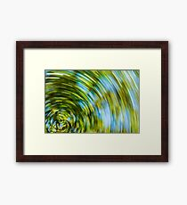 """Spinning"" Framed Print"