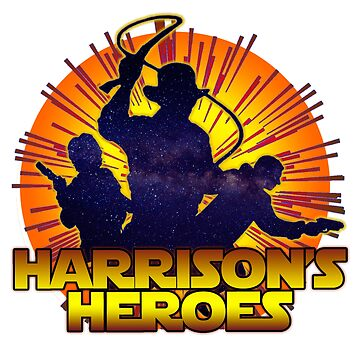 Harrison's Heroes by fm-tees