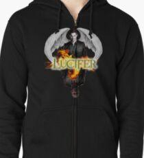 Lucifer Morningstar Zipped Hoodie