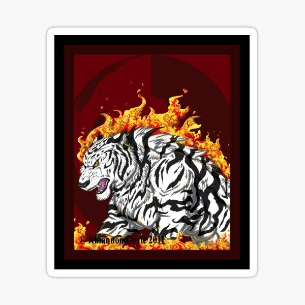 Fire Sticker