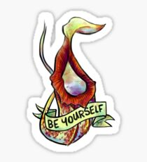 Positive Carnivores - Nepenthes Sticker