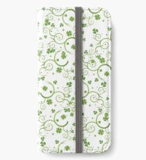 Lucky Four Leaf Clover  iPhone Wallet/Case/Skin