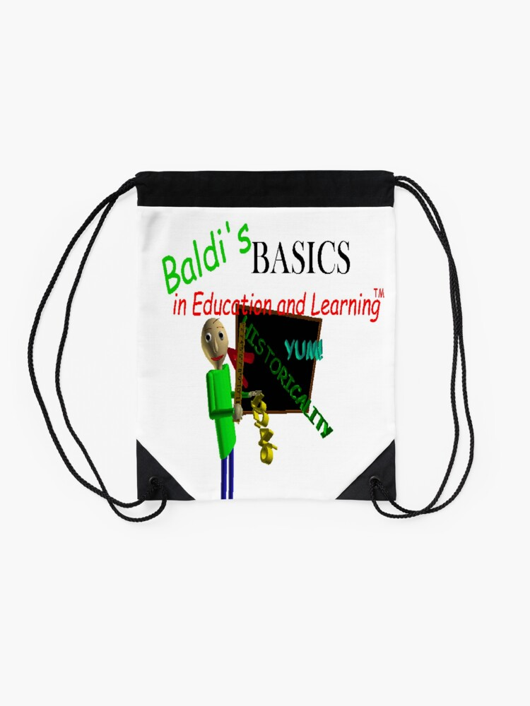Alternate view of Baldi's Basics in Education and Learning Drawstring Bag