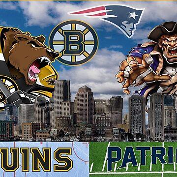 boston sports 2 by jscroggs1