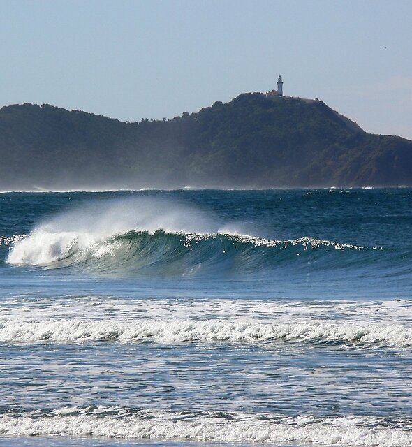 Byron Bay from Broken Head by PhotosByG