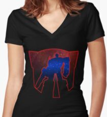 Guardian of Freedom Women's Fitted V-Neck T-Shirt