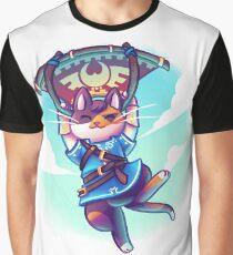 Cosplay Kittens - Kitten of The Wild Graphic T-Shirt