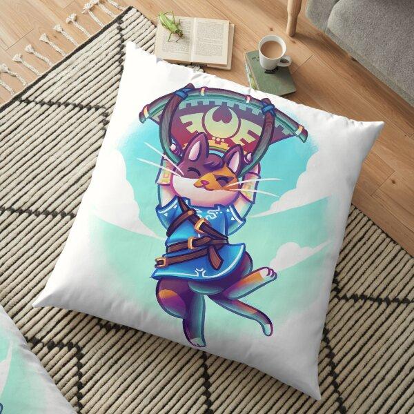 Cosplay Kittens - Kitten of The Wild Floor Pillow