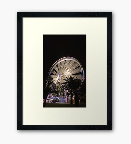 Perth Wheel   Framed Print