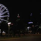 Perth Wheel At Night  by EOS20