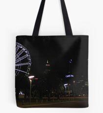 Perth Wheel At Night  Tote Bag
