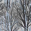 Winter Trees by Aimee Cozza