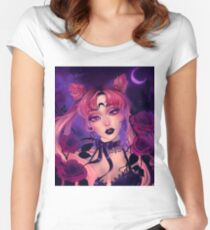 Wicked Lady Fitted Scoop T-Shirt
