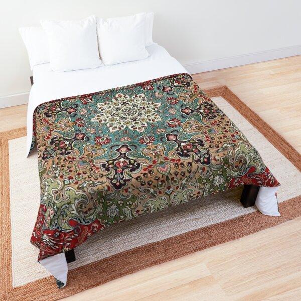 Vintage Antique Persian Carpet Print Comforter