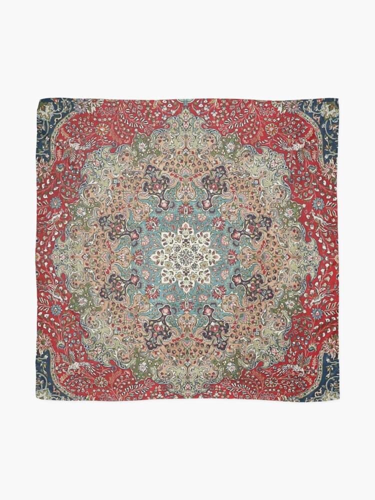Alternate view of Vintage Antique Persian Carpet Print Scarf