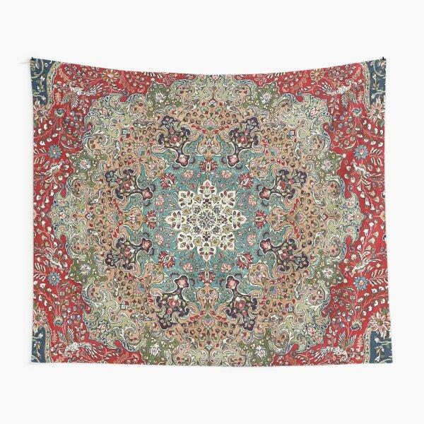 Vintage Antique Persian Carpet Print Tapestry