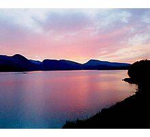 Pink Seaside Photographic Print