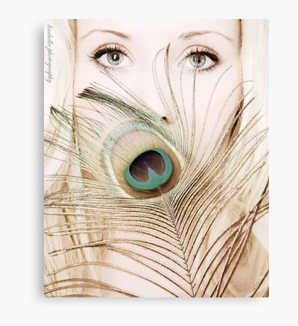 Her eyes indicate the antiquity of her soul Canvas Print