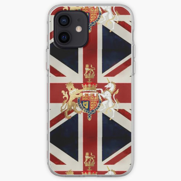 Union Jack with Windsor Insignia iPhone Soft Case