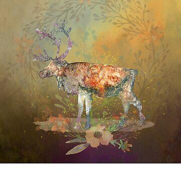 Beautiful Deer by Aerrie