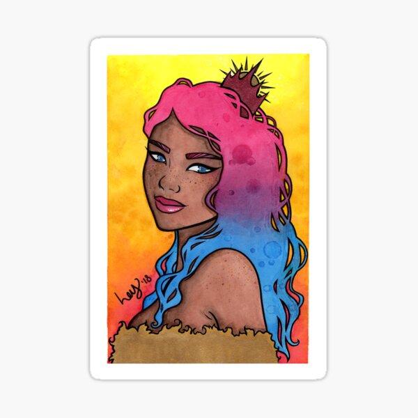 Sun Queen Sticker