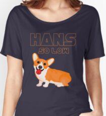 Corgi Dog T-Shirt - HANS SO LOW Women's Relaxed Fit T-Shirt