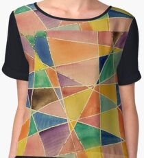 Water Colours Chiffon Top